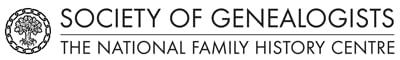 Society of Genealogists Logo