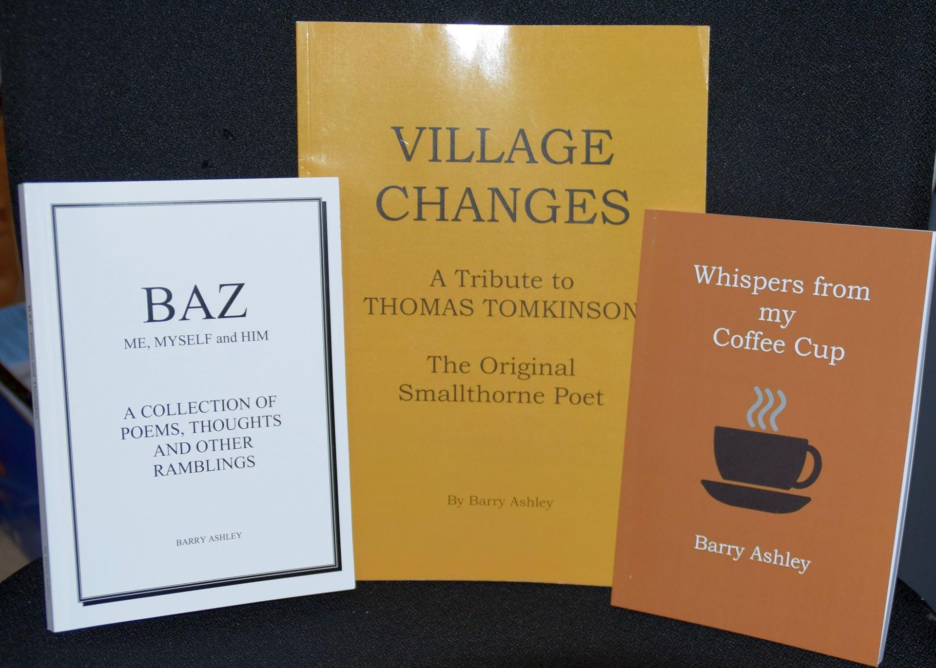 My Books - Barry Ashley